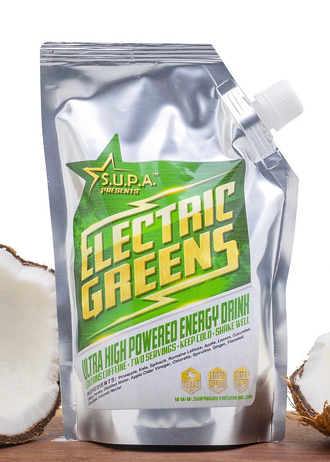 "Electric Greens ""Grab&Go 6 Pak"""