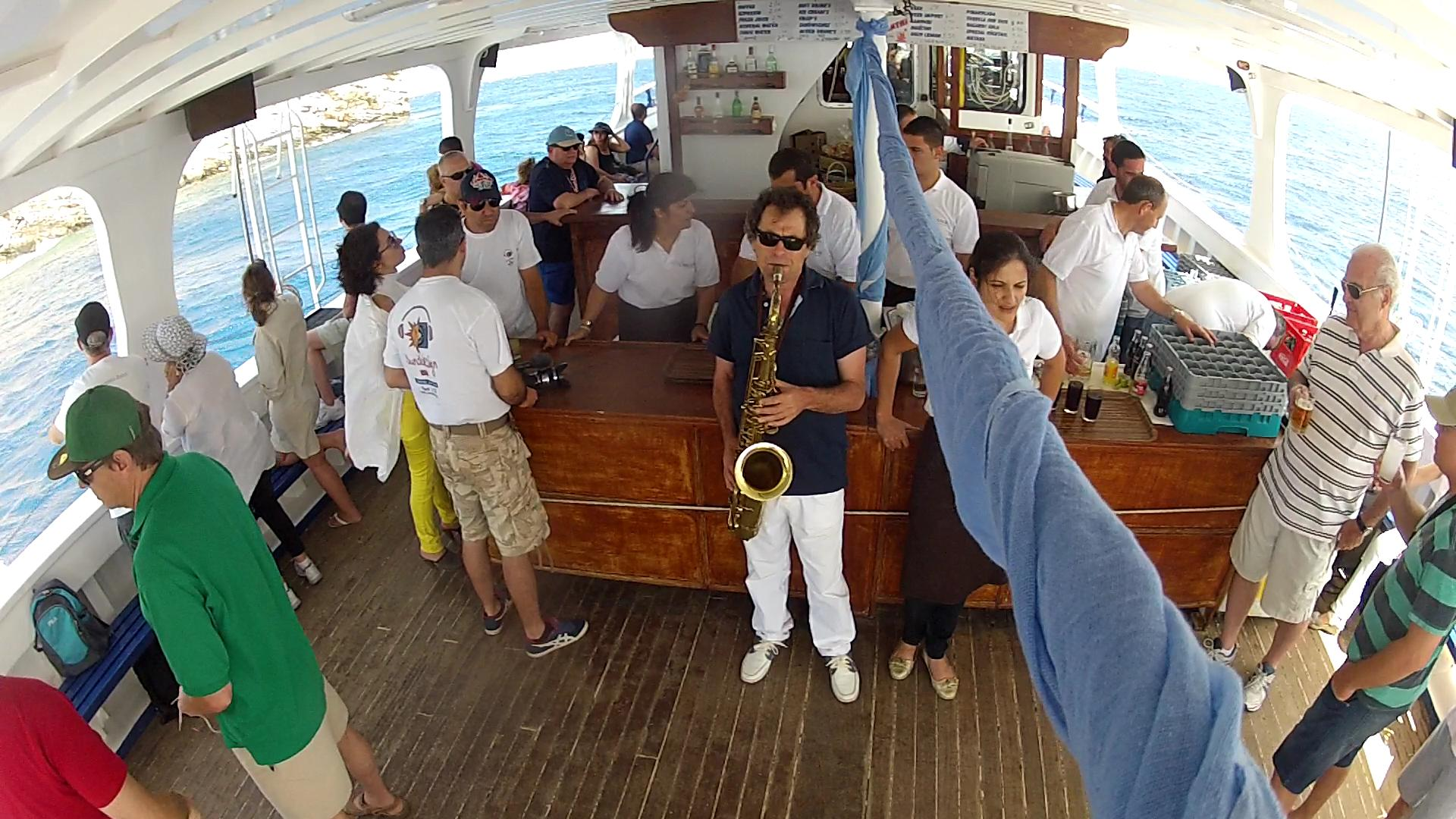 sounddesign  on boat events 2013