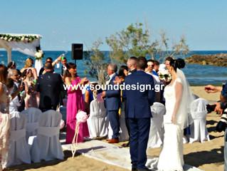 Wedding ceremony in Greece