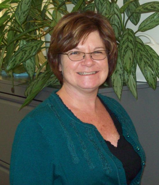 Theresa Ward smiling at the camera