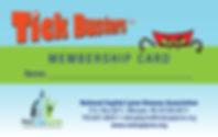 Tick Busters  ID-Membership Card Larger_