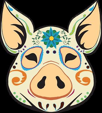 SoBo pig logo
