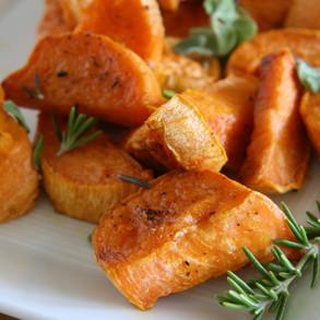 Sweet Potatoes Two Ways