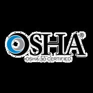OSHA 30 Hour certification badge