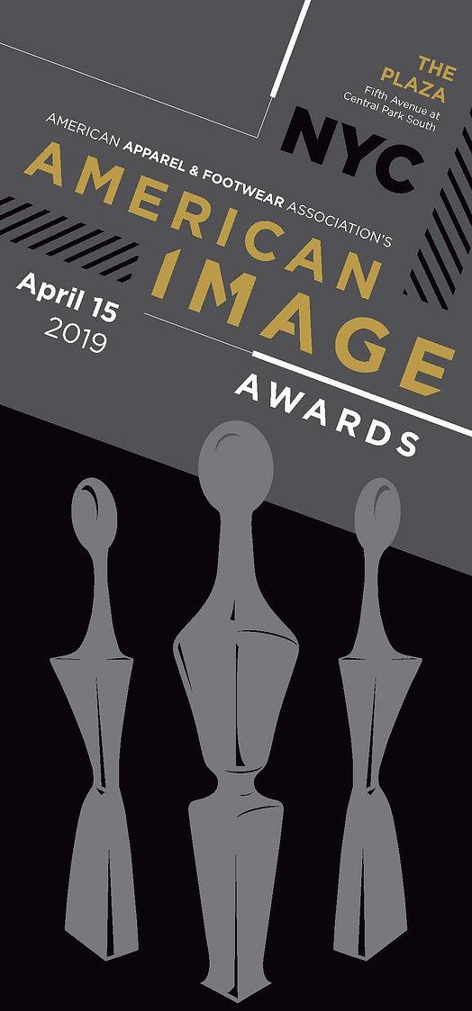 American Image Awards banner design
