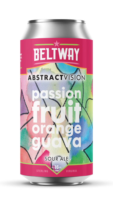 Abstract Vision Passionfruit Orange Guava