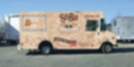 Right side design of SoBo food truck