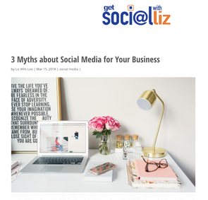 3 Myths About Social Media for Your Business