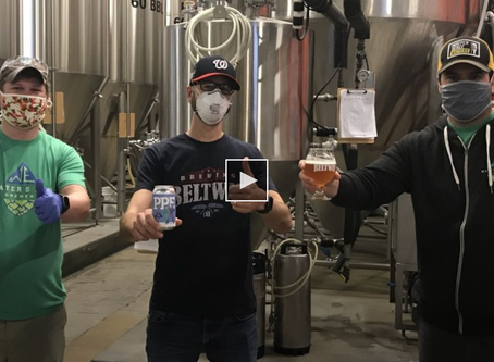 Virginia breweries make PPE IPA to support frontline workers fighting COVID-19