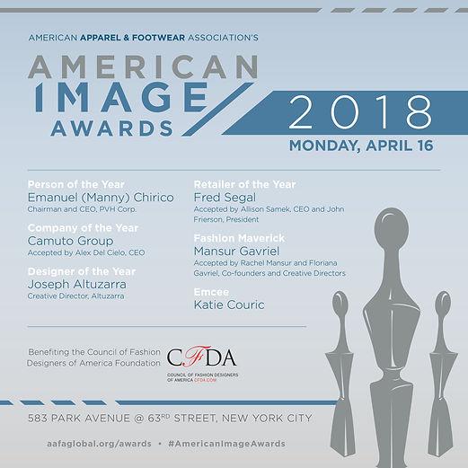 Awards ad design