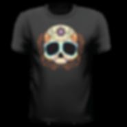 Men's SoBo skull tshirt