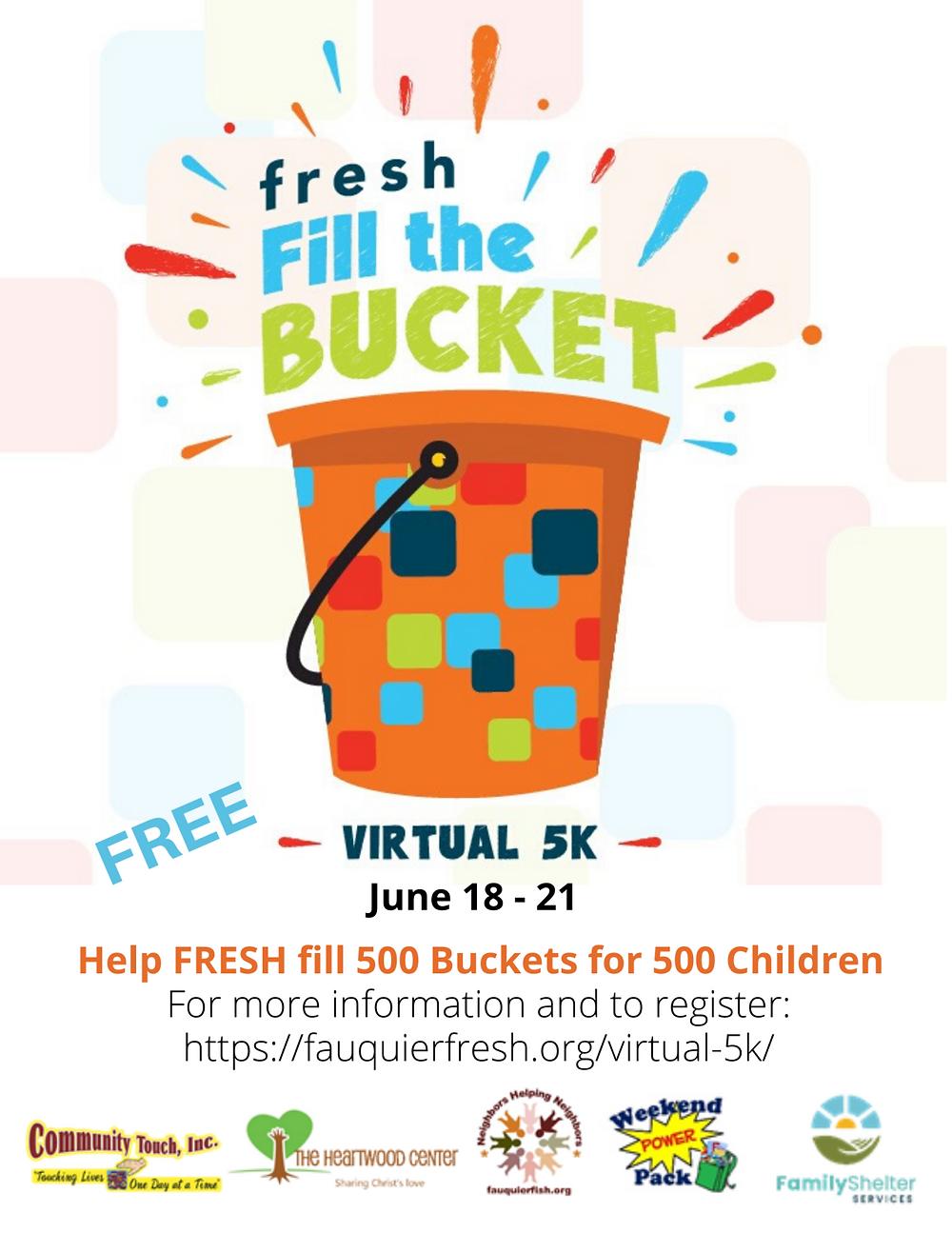FRESH Virtual 5K flyer