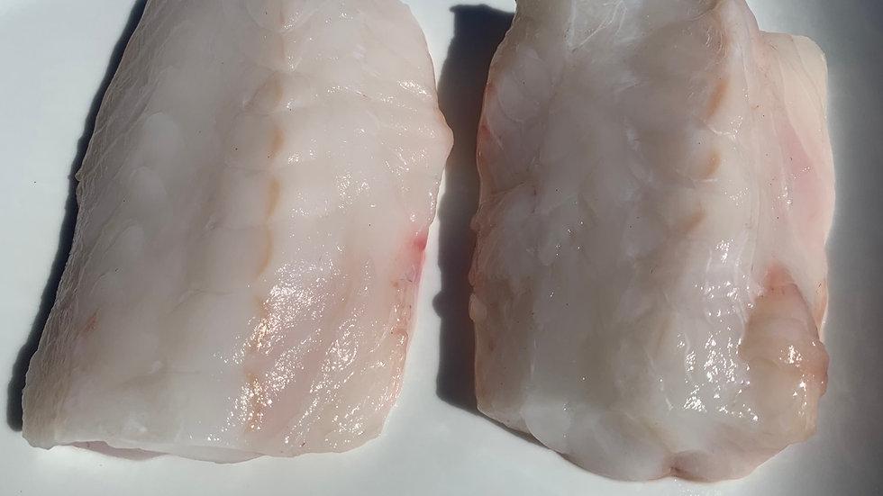 Monkfish portions ( Lophius piscatorius) 1 portion