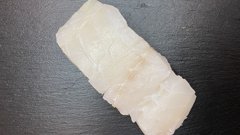 Cod portions (Gadas Callarias) 1 portion