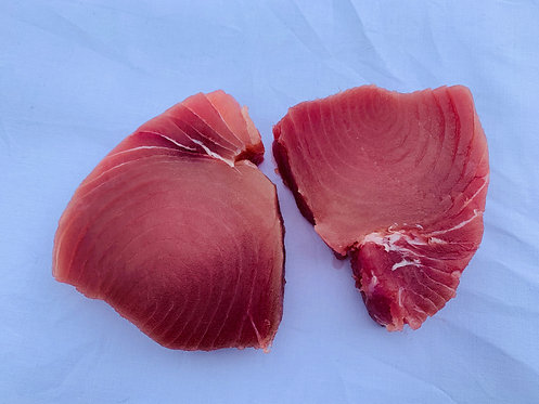 Yellowfin Tuna portions ( Thunnus thymus) 1 portion