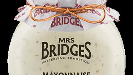 Mrs Bridges Mayonnaise with Lime & Basil