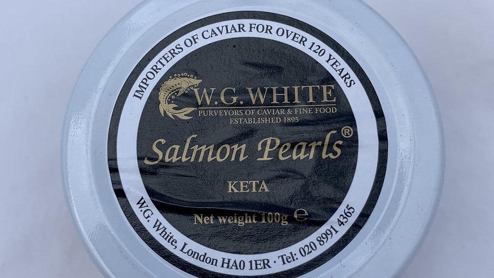 Keta Salmon pearls 100g