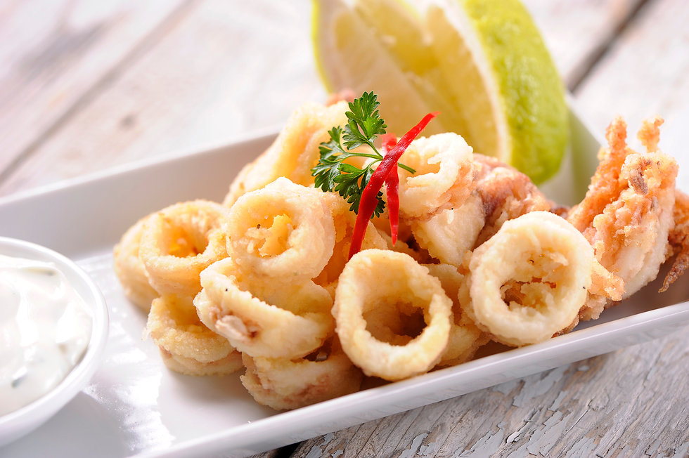 crispy chill squid