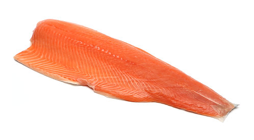 Fresh Salmon side piece skin on (1kg)