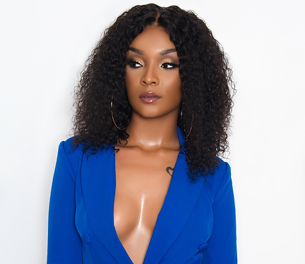 Get the Look: Wildy Sophisticated Pre-Styled Wig (Burmese Curly Texture)