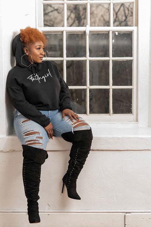 Faithgirl Hoodie (Black)