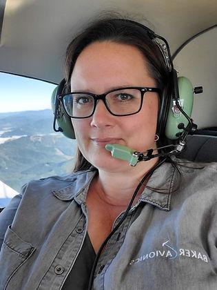 Leah Baker Owner of Baker Avionics