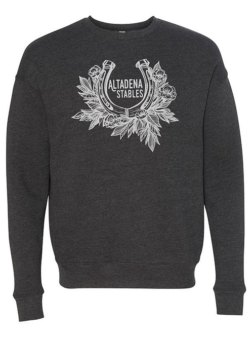 Altadena Stables Horseshoe Crewneck Sweatshirt