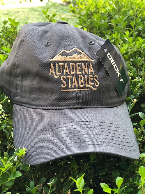 Retro Embroidered Altadena Stables Mountain Logo