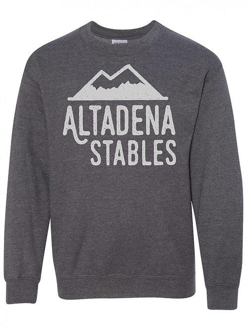 Youth Altadena Stables Mountain Crewneck Sweatshirt