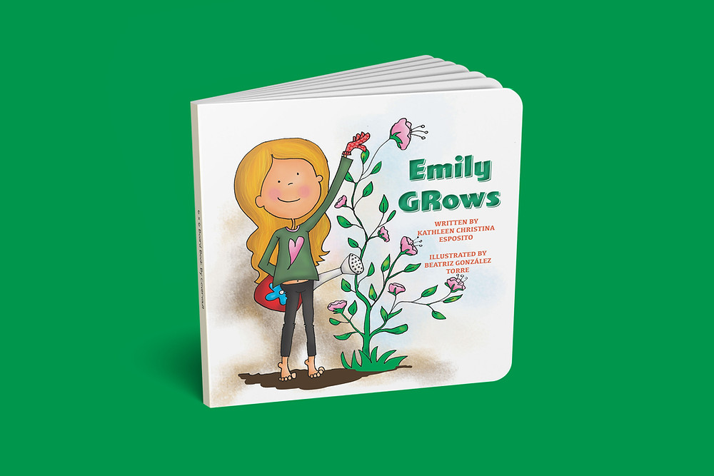 BOOK COVER OF EMILY GROWS