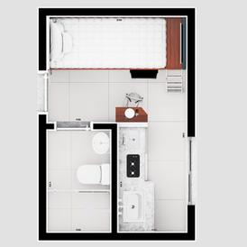 A força dos apartamentos compactos