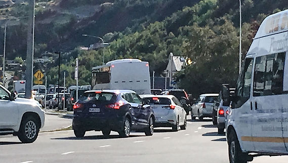 traffic congestion Queenstown