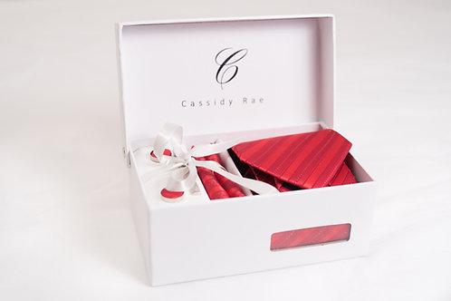 Red Tie Set