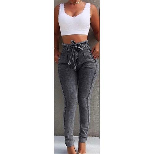 Black Bow Jeans