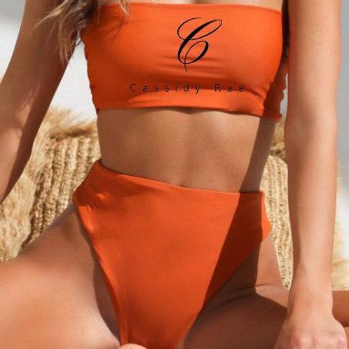 Orange Cassidy Rae Bandeau Bikini