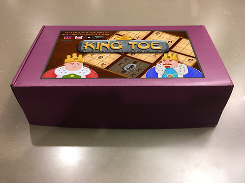 King Toe Dry Erase 3 in 1 Strategy Board Game