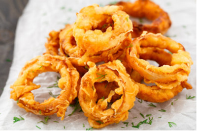Garnish your appetizer with crispy Fried Onion Snack
