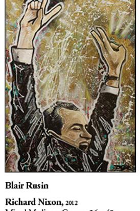 "12"" x 18"" Poster of Richard Nixon"