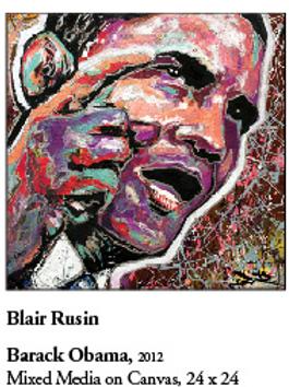 """12"""" x 12"""" Poster of Barack Obama"""