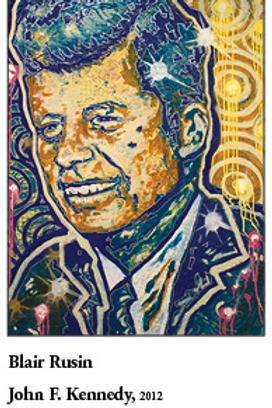 "12"" x 18"" Poster of John F. Kennedy"