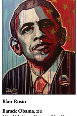 """12"""" x 18"""" Poster of Barack Obama"""