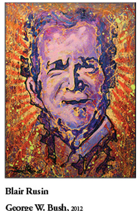 "12"" x 18"" Poster of George Bush"
