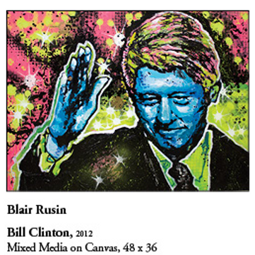 "12"" x 18"" Poster of Bill Clinton"