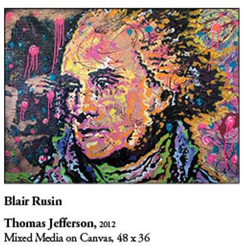 """12"""" x 18"""" Poster of Thomas Jefferson"""