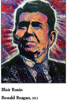 """12"""" x 18"""" Poster Ronald Reagan"""