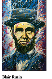 """12"""" x 18"""" Poster of Abraham Lincoln"""