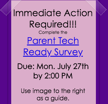 Immediate Action Required: Tech Survey
