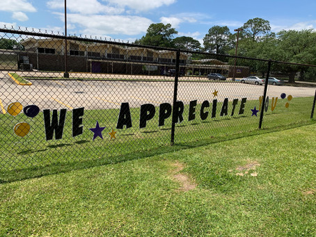 Thank you PTA for showing the love!