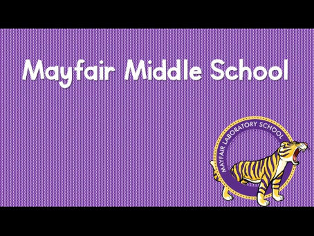 Middle School Students of the Month (April)