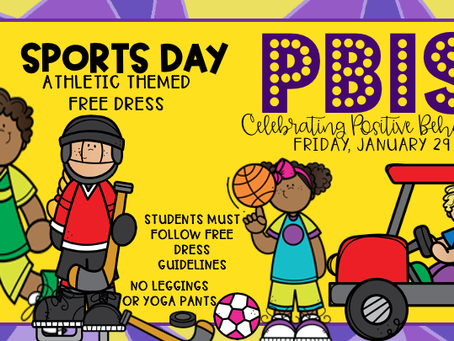 Sports Day - Friday, January 29th